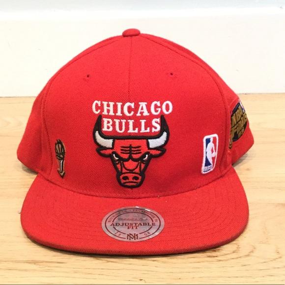 5214b9bf Mitchell & Ness Accessories | Vintage 1996 Chicago Bulls Snapback ...
